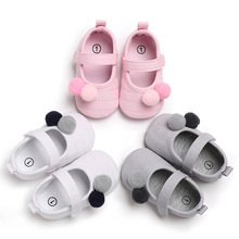 2019 The New 0-18M Toddler Baby Girl Soft Plush Princess Shoes cute shoes Infant Prewalker Born for girls