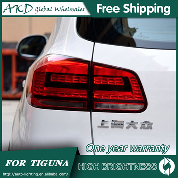 Tail Lamp For Car VW Volkswagen 2013-2017 Tiguan Tail Lights Led Fog Lights DRL Daytime Running Lights Tuning Car Accessories