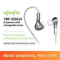 Urbanfun Auricolari Cuffie con Built-in Microfono 3.5 Millimetri in-Ear Wired Earphon E per Gli Smartphone