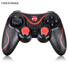 Bluetooth Gamepad for iPhone Android Wireless Joystick Game Controller Bluetooth BT3.0 Joystick For PS3 PC Tablet TV Box Holder lefant g6 wireless bluetooth gamepad joystick controller for android smartphone tablet vr pc tv box ps3
