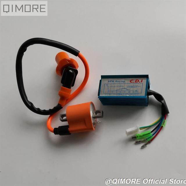 ביצועים CDI & הצתה סליל עבור 2 שבץ Minarelli 1E40QMB קטנוע טוסטוס JOG50 3KJ JOG90 Vento ZIP Keeway הוריקן TNG LS49