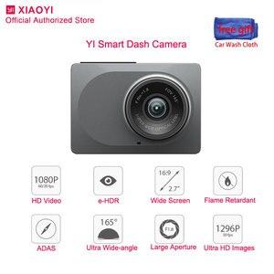 """Image 1 - Original Yi Smart Dash Cam Night Vision Car camera Dvr 1080P 2.7"""" Dashcam Adas Safe Reminder for Auto Recording Video Recorder"""