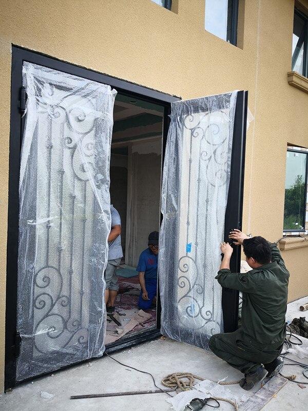 Shanghai Hench Brand China Factory 100% Custom Made Sale Australia Iron Gate For Front Door