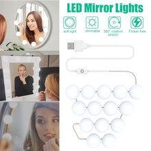 14 Bulbs LED Makeup Mirror Light Bulb 2338LM Hollywood Vanit