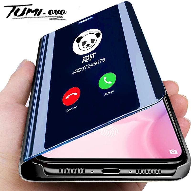 Smart Mirror Case For Samsung Galaxy A51 A71 A81 A91 A01 A11 A21 A31 A41 A50 A70 S20 Ultra S10 S9 S8 Plus Note 10 Pro Lite Cover