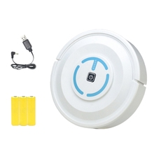Home Automatic Vacuum Smart Floor Cleaning Robot Auto Dust Cleaner Sweeper Mop-Charging Version White цена
