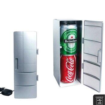 Mini USB refrigerator creative small refrigerator mini pharmaceutical cosmetics refrigerator desktop small refrigerator фото