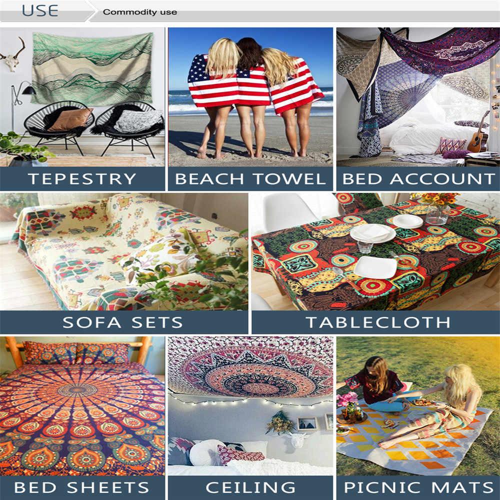 Tapiz de Palma de árbol, tapiz de pared con estampado de hojas tropicales y flores para playa, tapiz de pared de animales, tapiz de pared, tapiz de alfombra