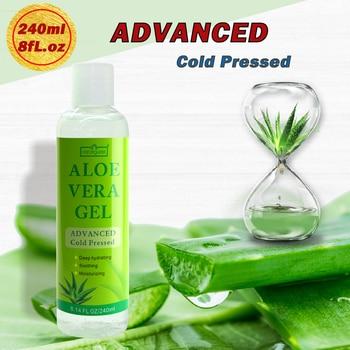 Gel Natural de Aloe Vera 240 puro 99% ml ácido hialurónico crema...