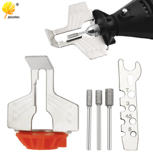 Sharpening Attachment Chain Saw Tooth Grinding Tools Used with Electric Grinder Accessories for Sharpening Outdoor Garden Tool