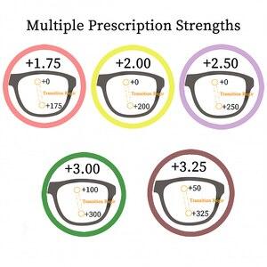 Image 5 - SHINU التقدمي متعدد البؤر نظارات للقراءة رؤية بعيدة وبالقرب القراءة نظارات ثنائية البؤرة قصر النظر نظارات Oculos دي غراو SH033