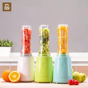 Youpin Ocooker Youth Portable Juicer Baby Fruit and Vegetable Cooking Machine Point Switch 304 Stainless Steel 8 Seconds