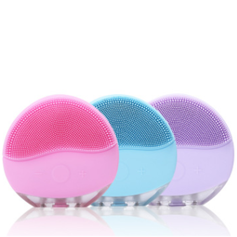Facial Cleansing Brush For Valentines Day Gift Electric Cleansing Instrument Mother's Day Gift Electric Face Cleansing Brush