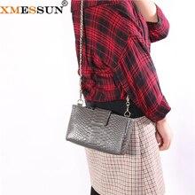 Snake Skin XMESSUN Wallet Chain Shoulder-Bag Women Luxury Fashion Python-Pattern INS