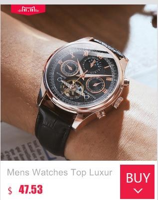Hbc150e911a024583827acccbce8e07c5t Skeleton Tourbillon Mechanical Watch Men Automatic Classic Rose Gold Leather Mechanical Wrist Watches Reloj Hombre 2018 Luxury