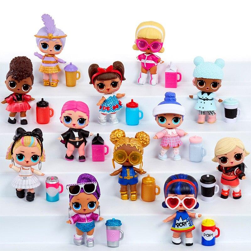 L.O.L. Surprise! Doll Blind Box Demolition Box 5 Generation Dolls Demolition Ball Capsule Girl Doll