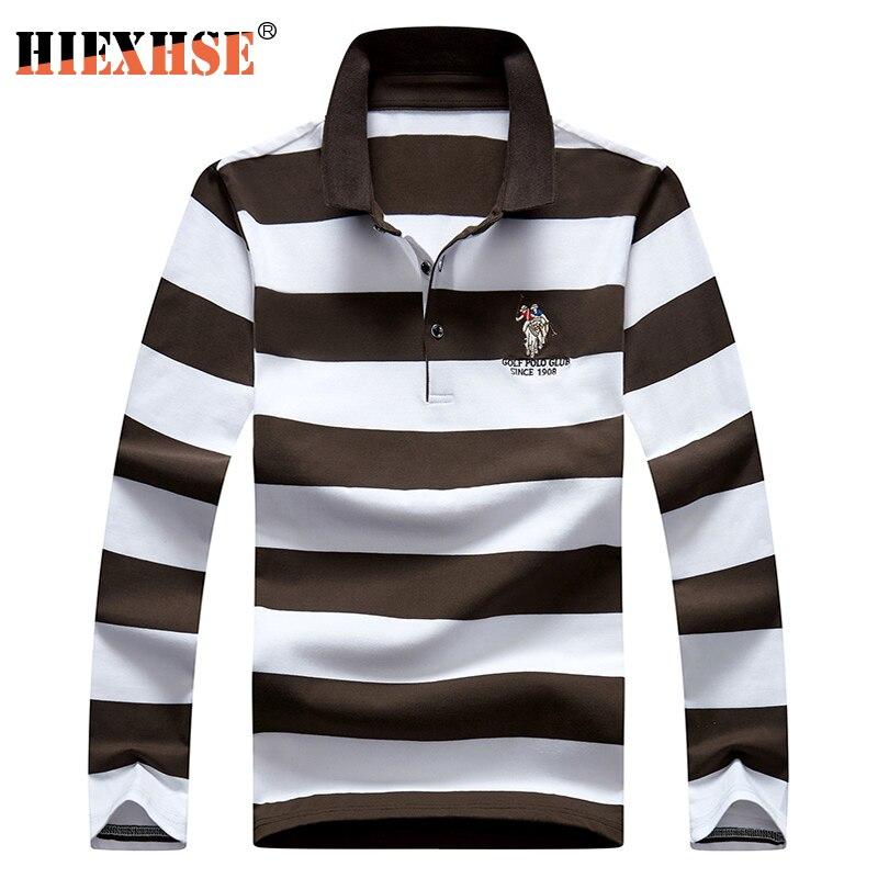 2020 New Arrival Autumn High Quality Men Polo Shirts Embroidery Polo Shirt Casual Polo Shirts men's Long sleeve polo shirt polo 4