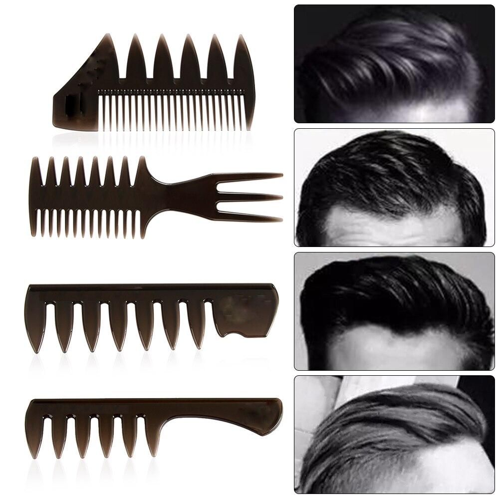 Горячая новинка щетка для волос с широкими зубьями расческа-вилка для мужчин борода Парикмахерская щетка Парикмахерская инструмент для укладки аксессуары для салона афро прическа
