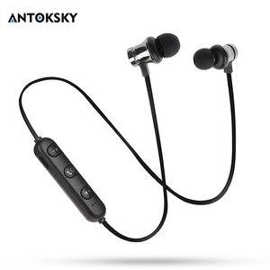 Image 1 - Antoksky XT11 Từ Bluetooth Thể Thao Không Dây Tai Nghe Bluetooth Cho Dành Cho IPhone 6 6S 8X7 Xiaomi Tay miễn phí