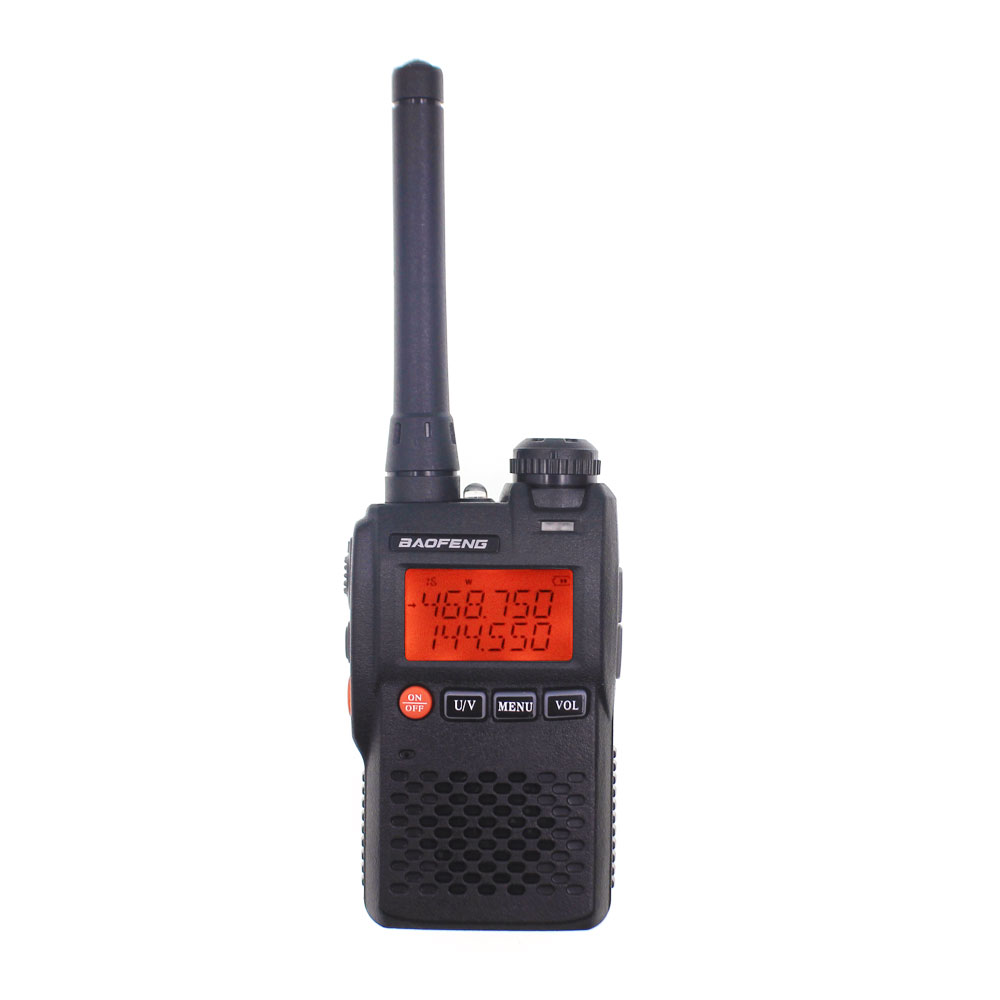 BaoFeng UV-3R Walkie Talkie UV 136-174&400-470MHZ With 1500mAh Battery UV3R Portable Radio