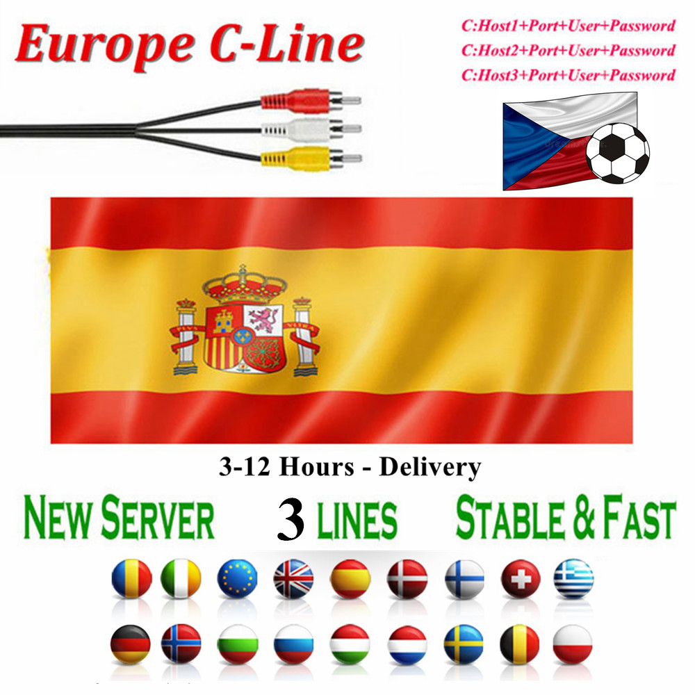 Cccam Cline  Europe Spain Portugal Poland Cccam Server Germany Cccam Sky Stable 3lines Ccams For Satellite Receiver DVB-S2