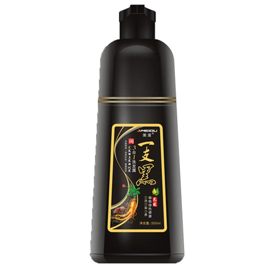 White Hair Into Black Fast Black Hair Shampoo Only 5Minutes Towish-White Hair In Black Natural шампунь Women косметика Мужчин