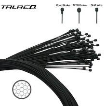 Cable cubierto para palanca de cambios de bicicleta, Cable de freno delantero y trasero, 2100mm, 1550mm, 1700mm, 1100mm, 1 unidad
