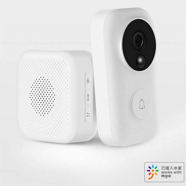 Zero AI Face Identification 720P IR Night Vision Video Doorbell Set Motion Detection SMS Push Intercom Free Cloud Storage
