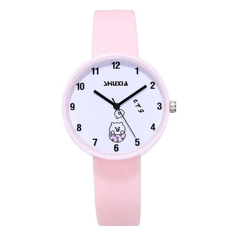 For School Student Watch For Children's Wrist Watches Fashion Safety Silicone Watchband Kids Clock Waterproof Boy Kids Hour 3080