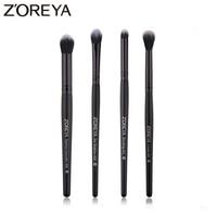Zoreya Marke 4 stücke Lidschatten Make-Up Pinsel Blending Kosmetik Pinsel Für Make-Up Falte Concealer Make-Up-Tools Eyebrown
