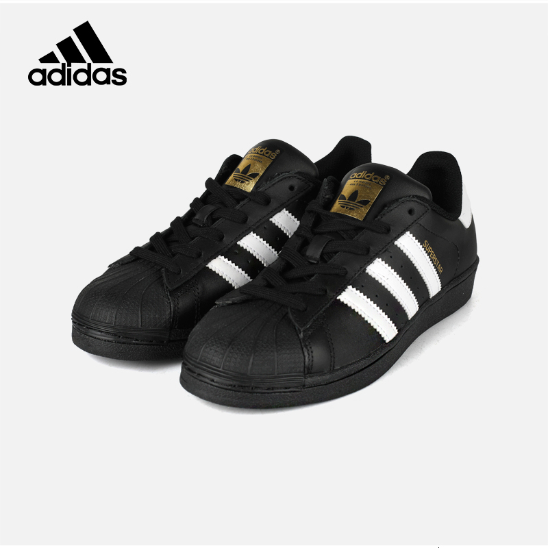 <font><b>Adidas</b></font> <font><b>Original</b></font> <font><b>Superstar</b></font> Men's Skateboarding Shoes Classic Outdoor Sports Sneakers Black White B27140 C77124 image