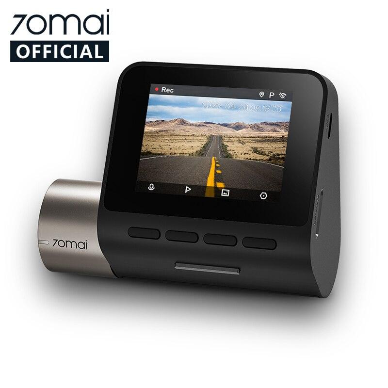 Permalink to Upgrade Version 70mai Dash Cam Pro Plus 70mai Plus Car DVR Built-in GPS 1944P Speed Coordinates ADAS 24Hours Parking A500
