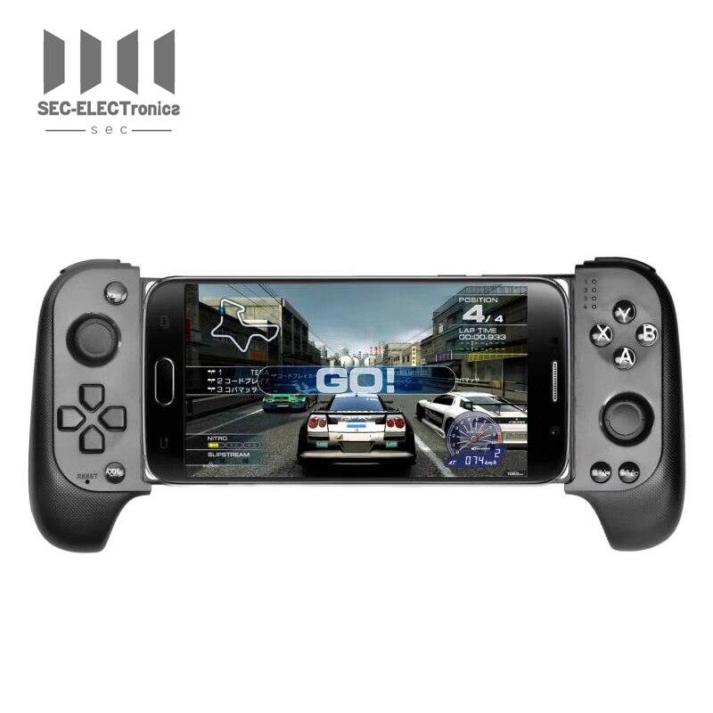 Новый беспроводной игровой Bluetooth контроллер Sec Saitake 7007F, телескопический геймпад, джойстик для Samsung, Xiaomi, Huawei, телефонов на Android, ПК
