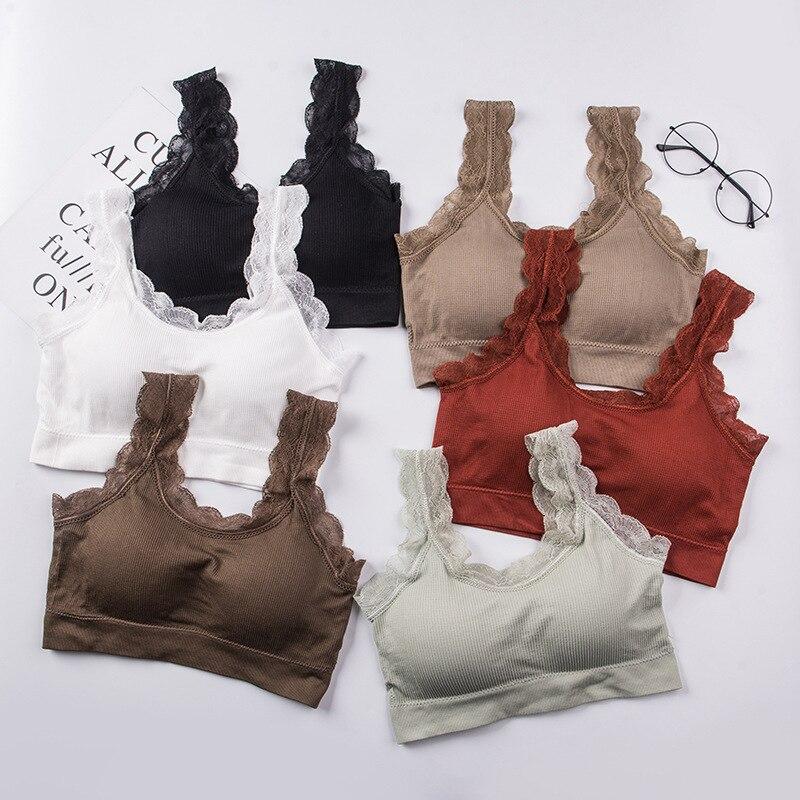 BZEL Sexy Femme Bras Solid Color Nest Brassiere Push Up Gather Seamless Bra Wire Free Soutien Gorge Femme Comfort Cute Underwear