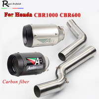 CBR 600 For Honda CBR600 cbr600rr 2005 2015 CBR 1000 2004 2007 Motorcycle Front Middle Connecting Pipe Exhaust Muffler Pipe