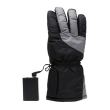 Ski Gloves Winter USB Electric Hot Finger 5th Battery Heating Outdoor Thick Can Be Washed
