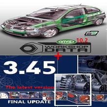2020 venda quente software de reparação de automóveis vívido 10.2 software automóvel -- dados 3.45 da europa informação automóvel -- software de dados