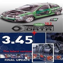 2020 ホット販売自動車修理ソフトウェアvivid 10.2 ソフトウェアオート データ 3.45 のヨーロッパ情報オート データソフトウェア