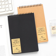 A5 Spiral Notebook Upturn Coil Note book Lined Blank Grid Paper Journal Diary Sketchbook For School Office Stationery note for mushroom a5 notebook blank pages note book sketchbook diy personal diary book stationery gifts