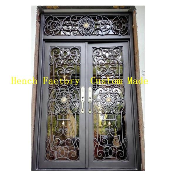 Shanghai Hench Brand China Factory 100% Custom Made Sale Australia Discount Iron Doors