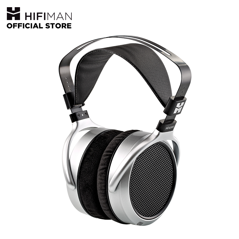 HIFIMAN HE400S Over Ear Full-Size Planar Magnetic Headphones Adjustable Headband With Comfortable Earpads Open-Back Design
