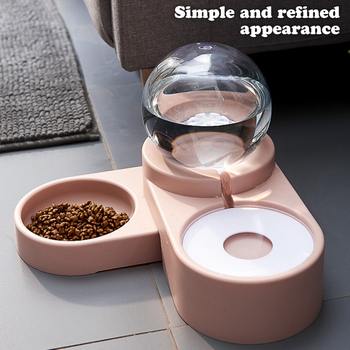 1.8L New Bubble Pet Bowls Food Automatic Feeder Fountain Water Drinking for Cat Dog Kitten Feeding Container Pet Supplies