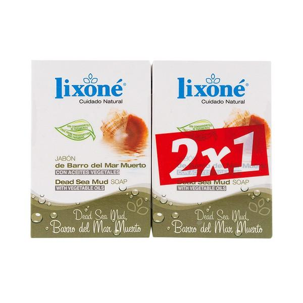 Soap Set Dead Sea Mud Lixoné (2 Pcs)