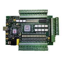 Placa Controladora CNC 3 Mach3 4 Eixo Eixo Placa de Interface de Máquina de Gravação E CORTE Controlador De Movimento USB Versão de Atualização