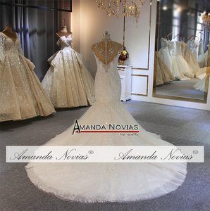 Image 5 - ชุดเดรสเมอร์เมดแอฟริกา 2020 ลูกไม้ Appliques CUSTOM Made ชุดแต่งงาน vestidos de noiva
