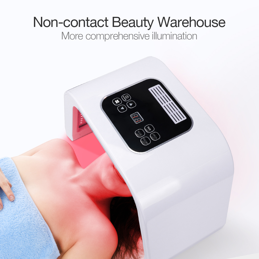 Professional 7 Colors PDF Led Mask Facial Light Therapy Skin Rejuvenation Device Spa Acne Remover Anti Wrinkle BeautyTreatment-in Face Skin Care Tools from Beauty & Health    2