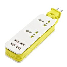 Extension Electrical Socket Portable Charging Ports USB Travel Household Power Strip Electrical Socket Power Sockets Smart Charg(China)