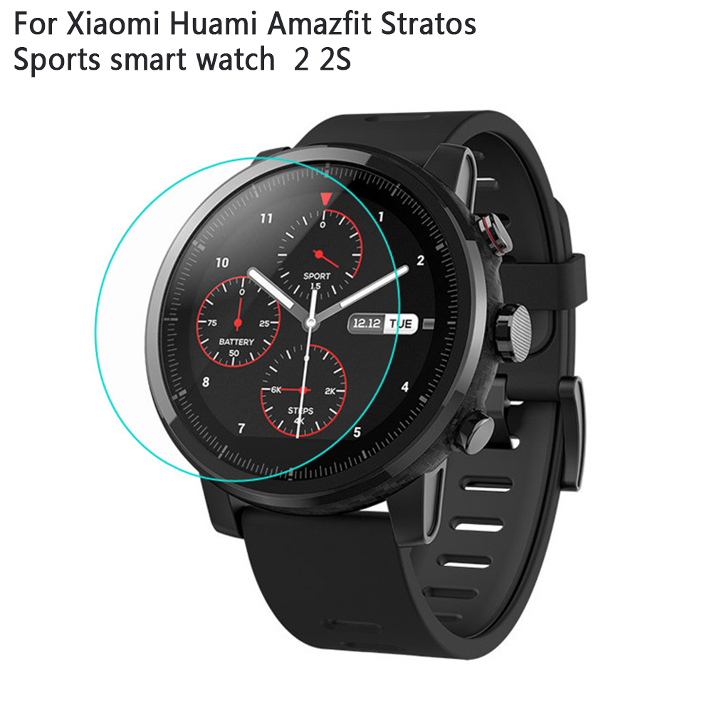 1pc Soft TPU FullCover Screen Protector For Xiaomi Huami Amazfit Stratos Pace 2 2S Smart Watch Smartwatch Accessories Not MiBand