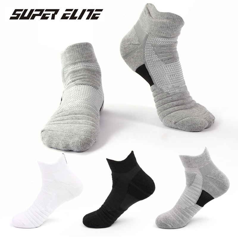 Men Sport Socks EU 38 to 43 Running Socks Summer Short basketball Cycling Hiking Socks Athletic Compression Socks Tennis Ski Sli
