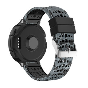 Image 3 - Yayuu Printed Silicone Watch Band For Garmin Forerunner 220/230/235/620/630/735XT Bracelet Replacement Wrist Strap Buckle Band